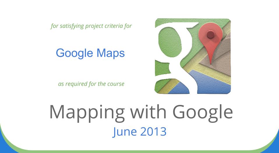 Kurz Mapping with Google