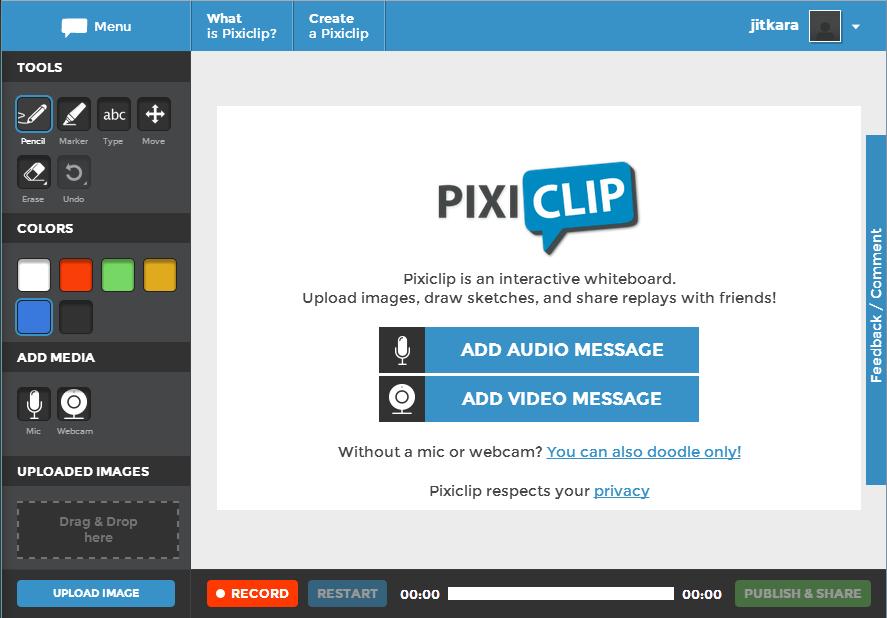 PixiClip – jednoduché výkladové video