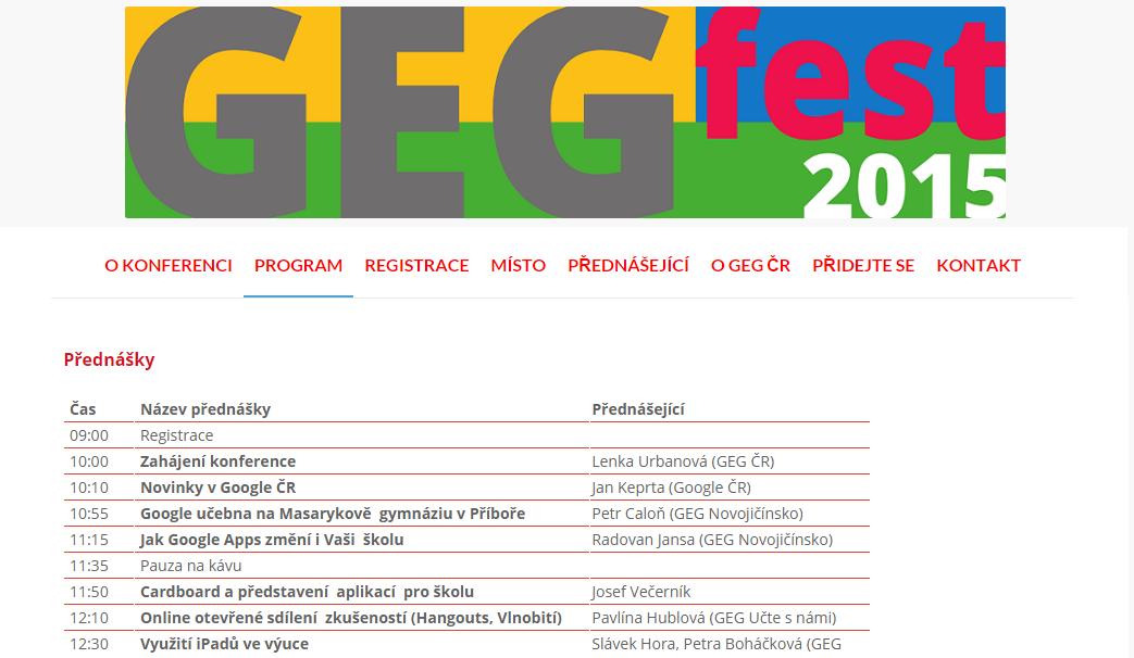 GEGfest 2015