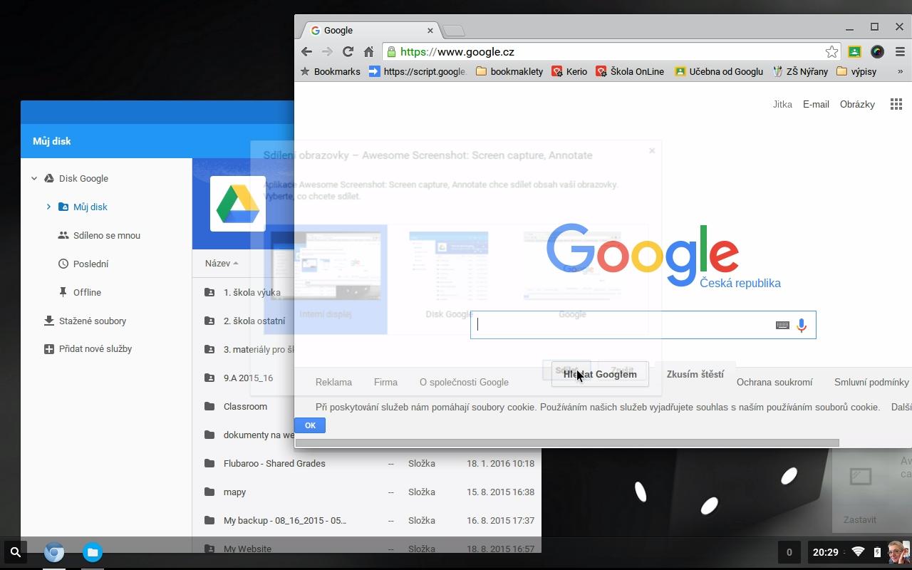 """Chromebook"" ze starého PC"