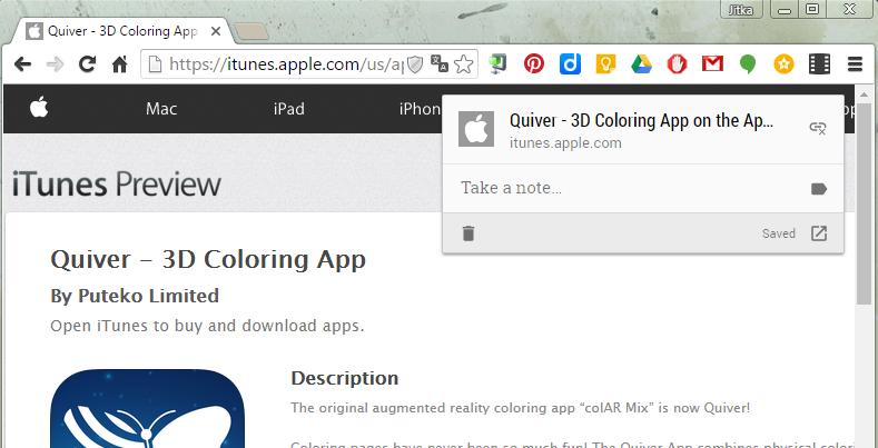 Rychlé sdílení odkazu mezi PC a iPadem