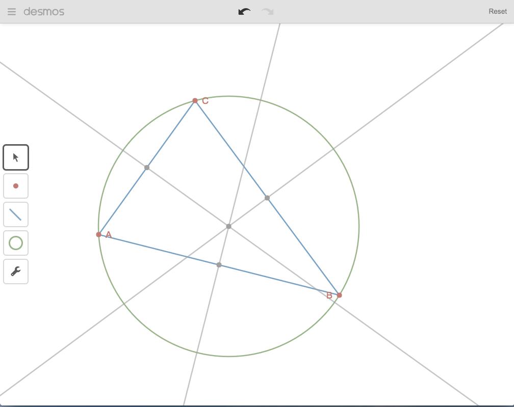Desmos a dynamická geometrie