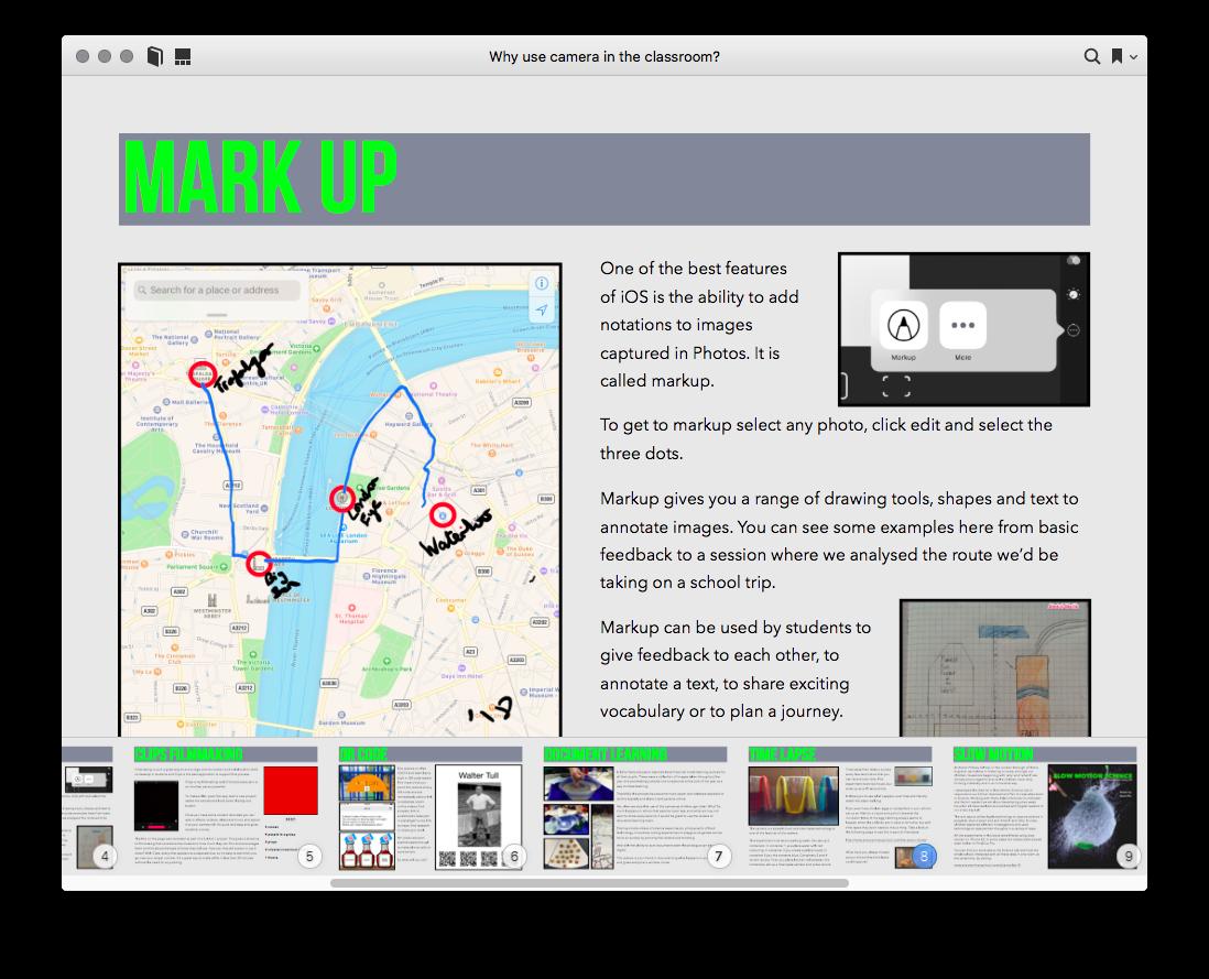Inspirace pro práci s iPadem