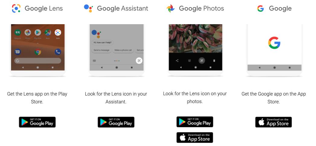 Novinky v Google Lens