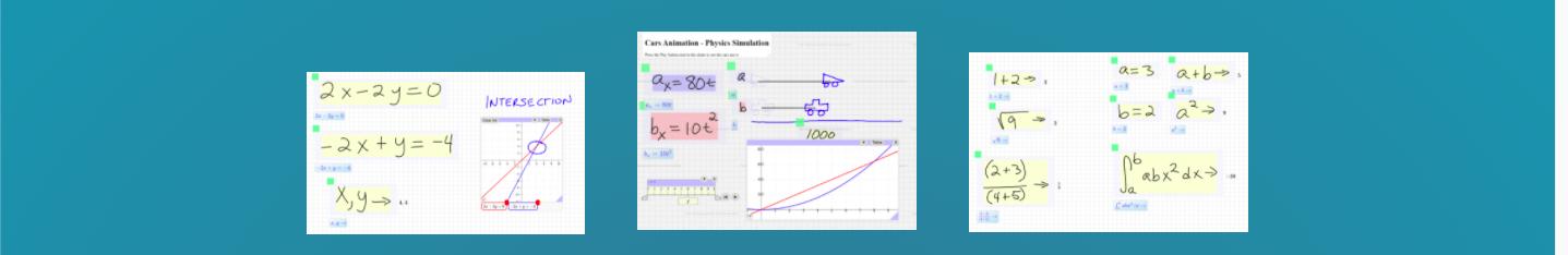 Další matematický whiteboard